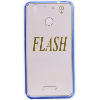PC/TPU Senior Back Case For CherryMobile Flash (Blue)