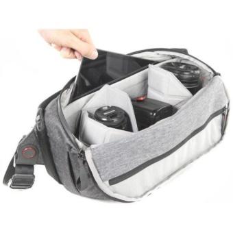 Peak Design Everyday Sling BSL-10-AS-1 10L Camera Bag for DSLR & DSLM - Ash - intl - 4