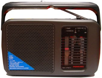 Pensonic Hybrid Rechargeable AM/FM Radio
