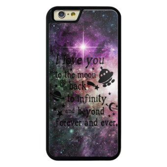 Phone case for Apple iPhone 4 / 4s I Love You To The Moon And Back--033-5 cover for iPhone 4/4s - intl