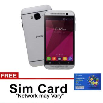 Phonix Mobile P3 512MB Dual SIM (White) with free SIM Card (NetworkMay Vary) Price Philippines