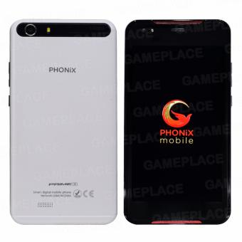 Phonix Mobile Prime 1 8GB (White) with free Cellphone Stand (Color May Vary) - 2
