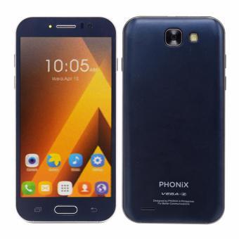 Phonix Mobile Vega 2 4GB Quadcore With Free Case (Blue) - 2