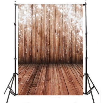 Photo Studio Accessories Background Backdrop Photography Cloth WoodGrain Gadget - intl