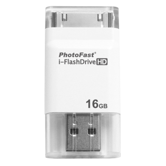 Photofast i-FlashDrive HD 16GB Generation 2 (White) - picture 2