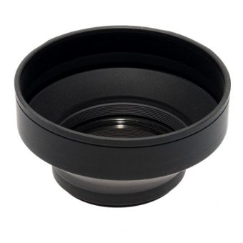 Phottix 3 Stage Collapsible Lens Hood 58mm
