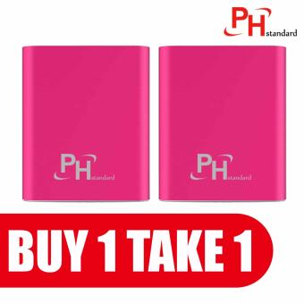 Phstandard Smart PowerBank 20000mah for Android iPhone iPod MP3/MP4(Pink) BUY 1 TAKE 1