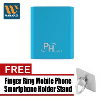 PHstandard SPN-996 10400mAh Power Bank with free Finger Ring MobilePhone Smartphone Holder Stand for iPhone (Color May Vary)