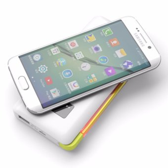 Pineng PN-888 10000mAh Wireless Charge Built-In Lighting Powerbank (White) - 5
