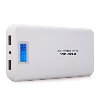 Pineng PN-999 20000mAh Power Bank set of 2 (White) - 4