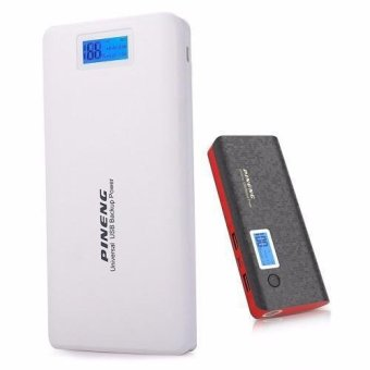 Pineng PN-999 20000mAh Power Bank (White) with Pineng PN-968 10000mAh Power Bank (Black)