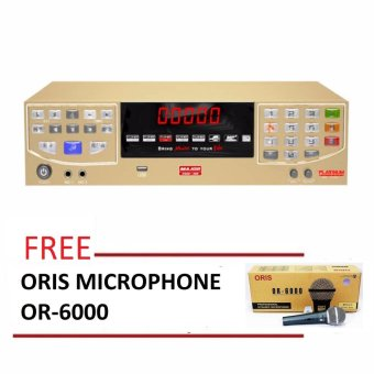 PLATINUM HD Major 10 Karaoke Hard Disk Player (Gold) Free ORISHigh-End Microphone OR-6000 Price Philippines