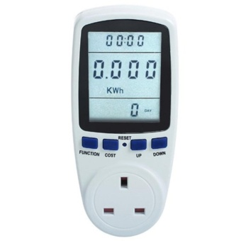 Plug Power Meter Energy Voltage Amps Electricity UsageMonitor,Reduce Your Energy Costs - intl