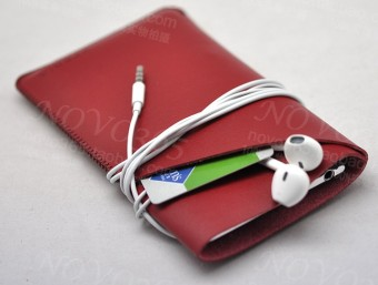 Plus iPhone Leather cover phone case