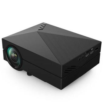 Pocket GM60 LCD Projector 1000Lm 800 x 480 Pixels 1080P HD Projection for Home Theater Cinema - intl Price Philippines