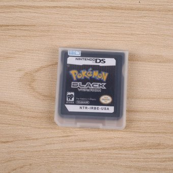 Pokemon Black Game Card Version 1 For Nintendo DS Video Console(Only Card) - intl