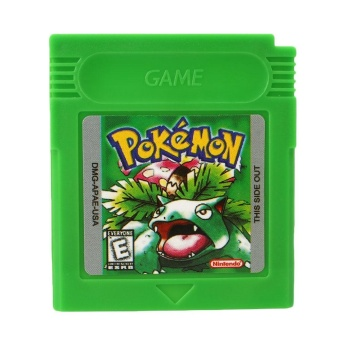Pokemon GBC Game Card Game Boy Advance GB GBC GBA SP Game Console Green Gifts - intl