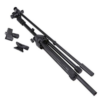 Polestar Adjustable Professional Boom Microphone Stand Tripod Base