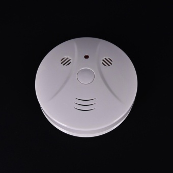 Pop Smoke Detector Cam Hidden Surveillance Security Camera/RecorderDvr+Remotef - intl Price Philippines