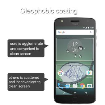 PopSky Clear Tempered Glass Premium 9H Film Screen Protector for Motorola Moto Z Play - 4
