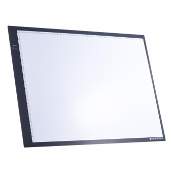 Portable A3 LED Light Box Drawing Tracing Tracer Copy Board Table Pad Panel Copyboard with Memory Function Stepless Brightness Control for Artist Animation Tattoo Sketching Architecture Calligraphy Stenciling - intl
