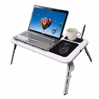 Portable Deluxe E-Table Laptop Cooler