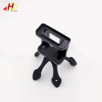 Portable Flexible Mount Gekko Tripod with Phone Holder forSmartphones (Black) - 2
