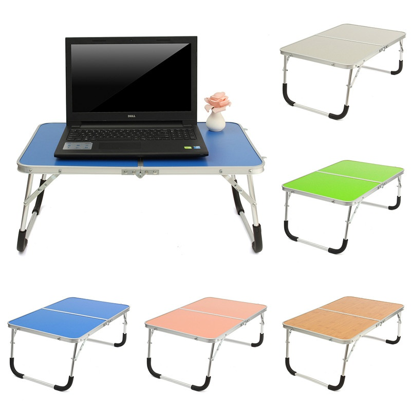 Portable Laptop Desk Table Stand Holder Adjule Folding Lapdeskbed Sofa Tray Notebook Computer Camping