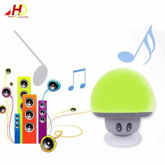 Portable Mini Mushroom Wireless Bluetooth Speaker (Green) - 3
