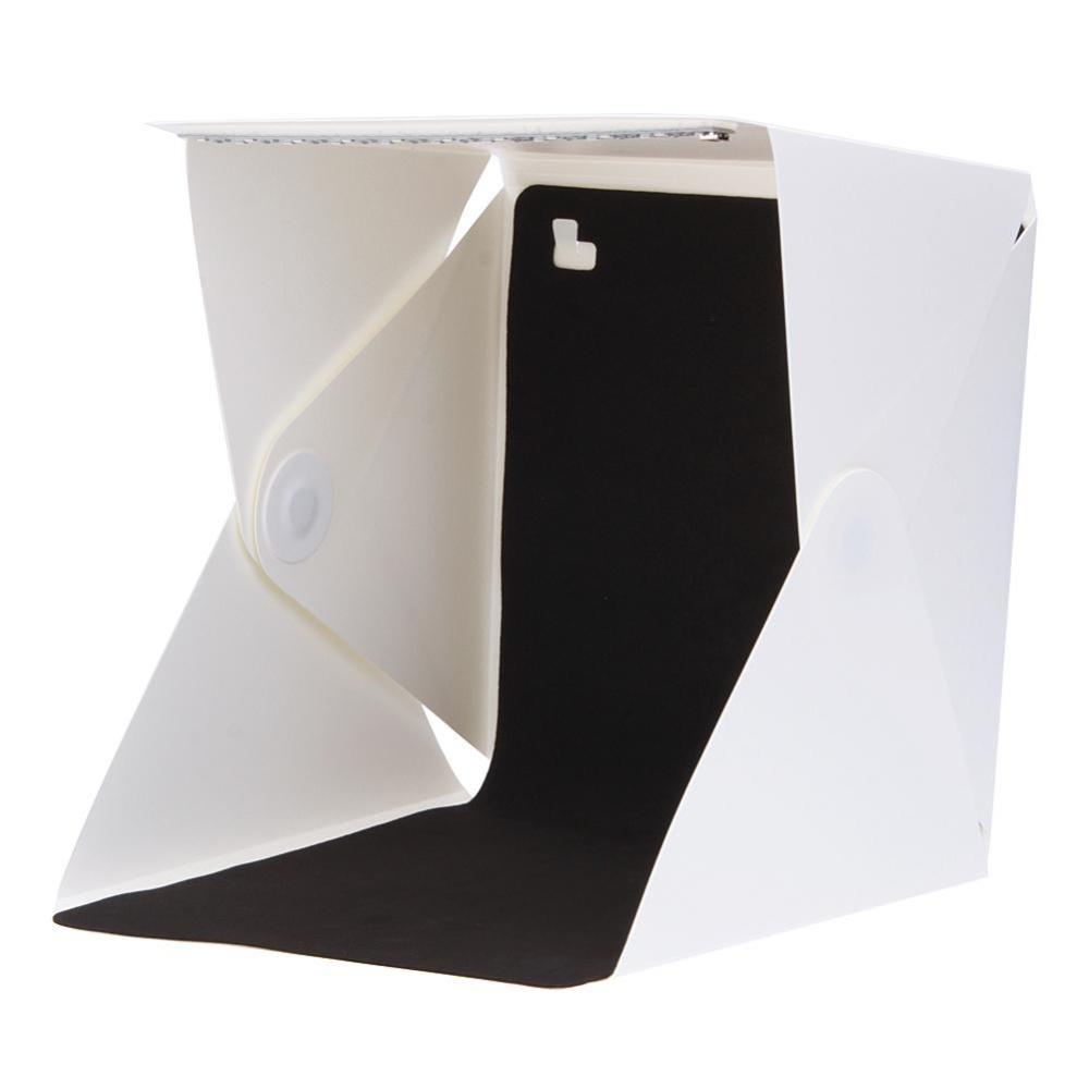 Portable Mini Photo Studio Box Built-in Light Photography Backdrop- intl