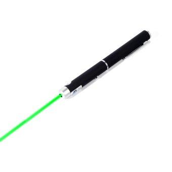 Portable Powerful 532nm Laser Pointer Lazer Pen Beam Light 5mWGreen (Intl) - 3
