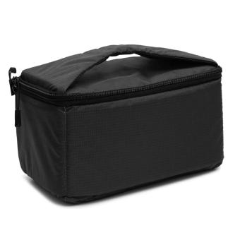 Portable Protective Camera Insert Padded Bag Case Pouch Holder Shockproof Waterproof with Dividing Partition for DSLR Camera Sony Canon Nikon Pentax Black - intl