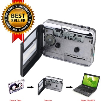 Portable USB Cassette Player Capture Cassette Recorder ConverterDigital Audio Music Player - intl