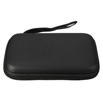 Portable Zipper External 2.5 HDD Bag Case (Black) - 2