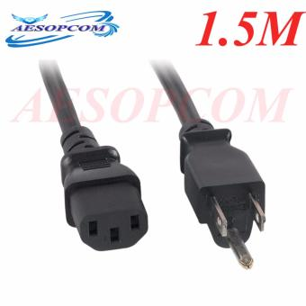 Power Cord Standard 1.5m for Cpu Black Price Philippines