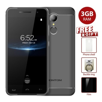 Pre-sale HOMTOM HT37 PRO 5.0 inch 4G Phone 3GB RAM, 32GB ROM - Grey - intl Price Philippines