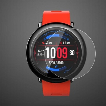 Premium 9H Tempered Glass Screen Protectors Film Guard For Amazfit Smart Watch - intl