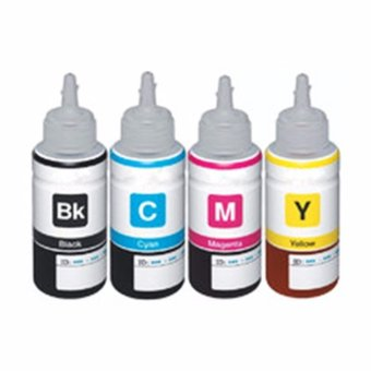 Premium Dye Ink for Epson Printer (Black, Cyan, Magenta, Yellow)