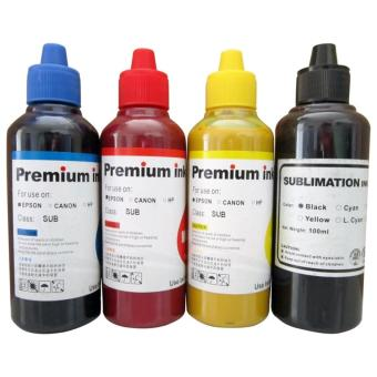 Premium Sublimation Ink for Epson Set of 4(Cyan/Magenta/Yellow/Black)