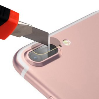PREMIUM Tempered Glass Camera Lens protector for Apple Iphone 7 PLUS - 2