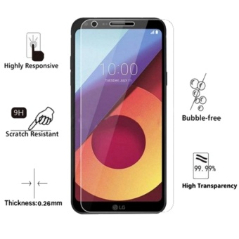 Premium Tempered Glass Screen Protector For LG Q6 (Clear)