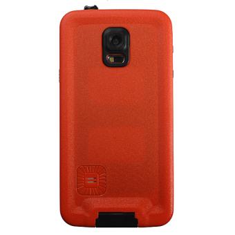 Premium Waterproof Shockproof Dirt Proof Case Cover for Samsung Galaxy S5 Orange - 4