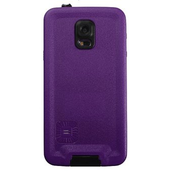 Premium Waterproof Shockproof Dirt Proof Case Cover for Samsung Galaxy S5 Purple