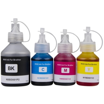 Printer Ink Refill Dye Ink Kit Compatible For Brother DCP-T300 DCP-500W DCP-T700W DCP-T800W Refill Ink Tank System Printer BK 100ML C/M/Y 42ML - intl