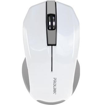 Prolink PMW6001 Wireless Nano 2.4Gh USB Optical Mouse (White)