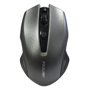 Prolink PMW6002 Wireless 2.4Gh USB Optical Mouse (Silver) - 2