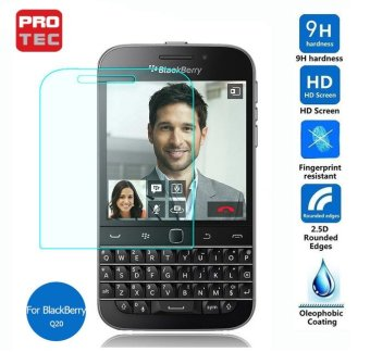 Protec Tempered Glass Screen Protector for Blackberry Q20