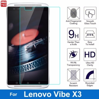 Protec Tempered Glass Screen Protector for Lenovo X3