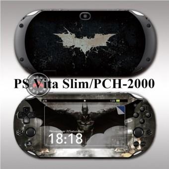 Protective Vinyl Sticker Skin Decal Cover for PlayStation Vita 2000/PS Vita Slim/PCH-2000 Batman 01 - intl ...