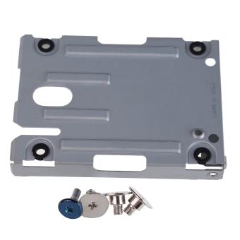 PS3 Super Slim Hard Disk Drive HDD Mounting Bracket Caddy For Sony + Screws - intl